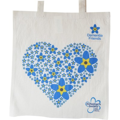 Dementia Friends Heart Bag